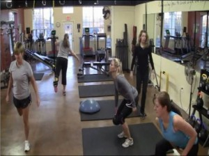 Small Group Training at Empower Personal Fitness Studio